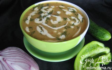 Рецепт Гватемальский суп из огурцов