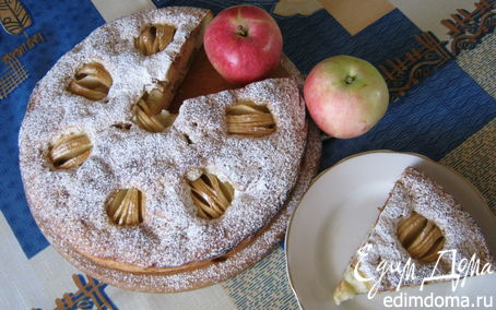 Рецепт Apfel kuchen.