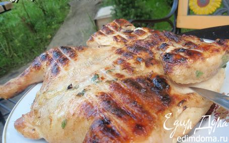 Рецепт Курица на мангале (по стопам Виктории)