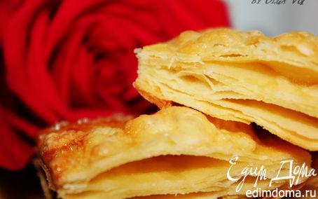 Рецепт Картофельное слоеное ПЕЧЕНЬЕ с сыром