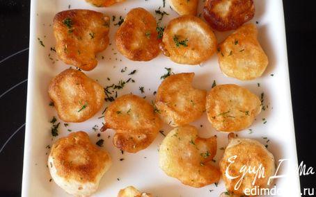 Рецепт Креветки запеченые (Gambas Rebozadas)