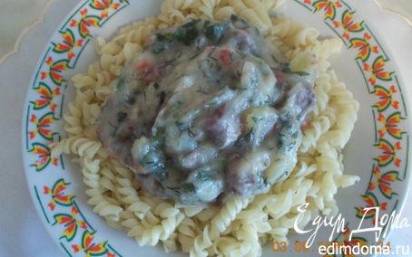 Рецепт куриные сердечки, тушёные с овощами