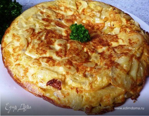 Испанская тортилья (Tortilla española)