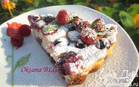 Рецепт Тарт ягодно - творожный.