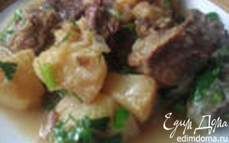 Рецепт Мясо с айвой