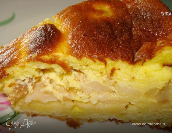Пирог грушевый «Неженка»