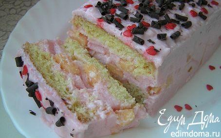 Рецепт Шифоновый торт с дыней