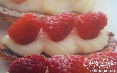 Рецепт Печенье миндальное с ягодами