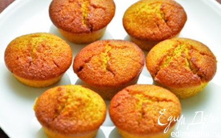 Рецепт Морковные кексы с орехами