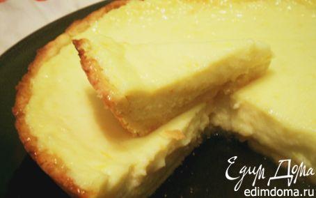 Рецепт Лимонный пирог с рикоттой