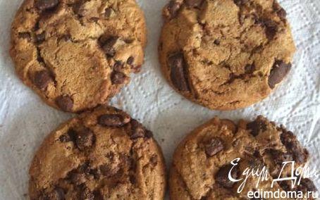 Рецепт Двойное шоколадное печенье