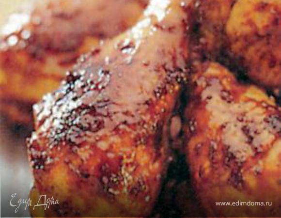Куриные ножки в соусе барбекю