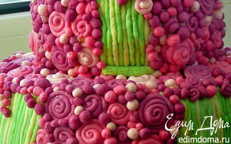 "Рецепт Торт ""Цветочная поляна"""