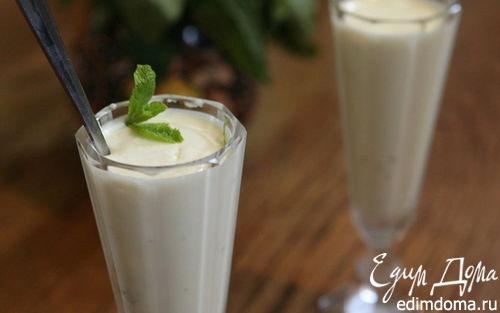 Рецепт Сливочный крем-мусс из белого шоколада