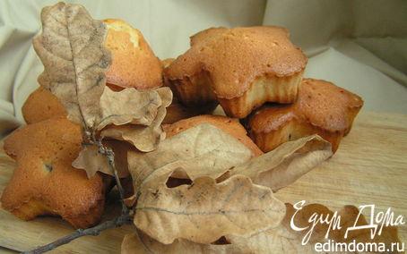 Рецепт Осенние кексы с вяленой вишней