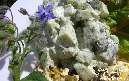 Рецепт Йогуртовый соус с бараго к салату