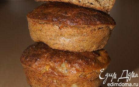 Рецепт Маффины с грушей и грецким орехом