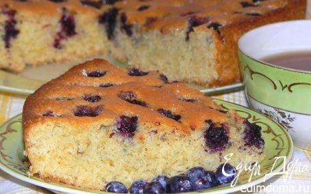 Рецепт Пирог с голубикой