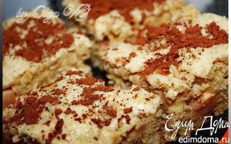 Рецепт Яблочный пирог с ОВСЯНЫМИ ХЛОПЬЯМИ (Нордик)