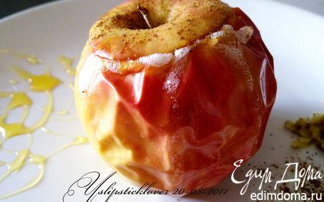 Рецепт Запеченные яблоки с медом и клюквой
