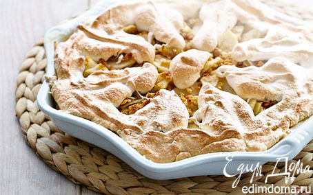 Рецепт Пудинг из груш и лимона