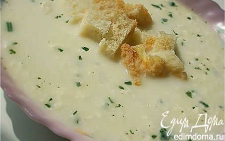 Рецепт Альпийский молочный суп с сыром