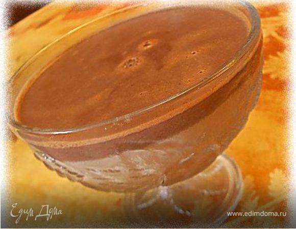 Шоколадный мусс (из молока)