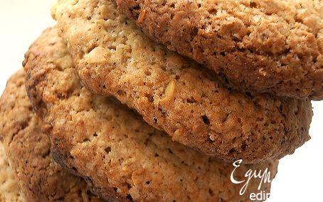 Рецепт овсяного печенья с изюмом от юлии высоцкой