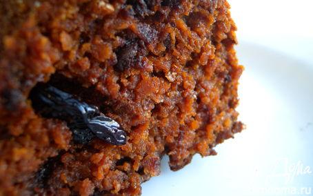 Рецепт Пирог на хлопьях Нордик с сушеной сливой и грушей