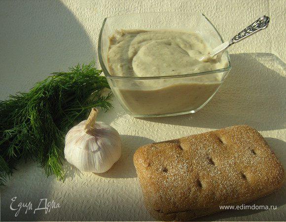 Пюре из баклажанов с йогуртом