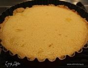 Песочный пирог с миндалем и манго