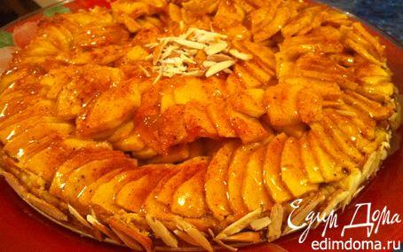 Рецепт Миндально-яблочный пирог