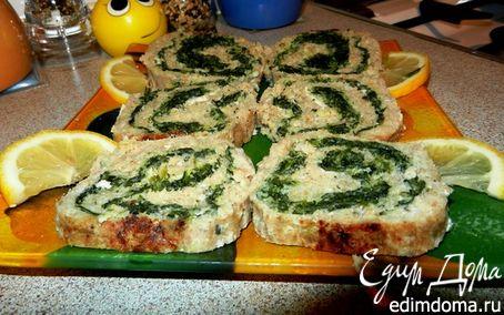 Рецепт Рыбное суфле с зеленью