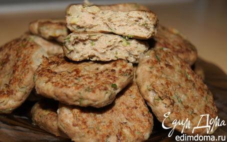 Рецепт Мясные котлетки с картофелем и укропом