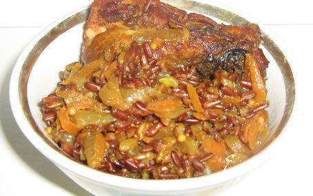 Рецепт Плов из красного риса