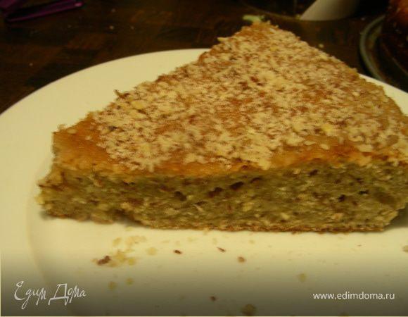 Каридопита, греческий пирог с грецкими орехами