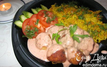 Рецепт Тефтель с рисом.