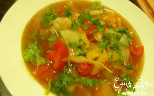 Рецепт Марроканская овощная похлебка