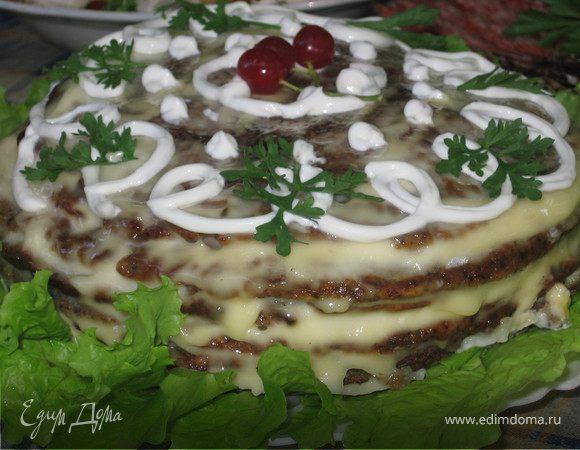 Тортик печеночный Classik