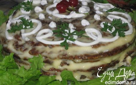 Рецепт Тортик печеночный Classik