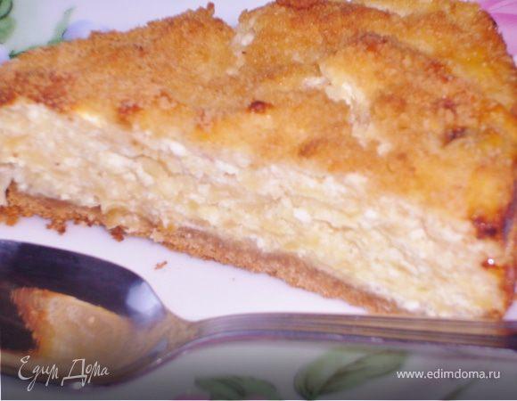 Тарт суфле с яблоками