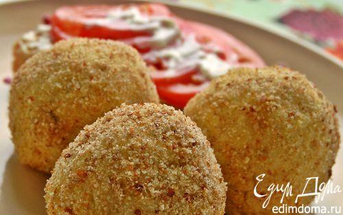 Рецепт Фаршированные картофельные крокеты