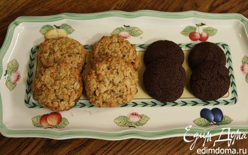 Рецепт Быстрое шоколадное печенье