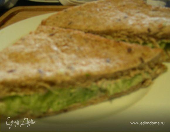 Сэндвич с огурцом в тайском стиле
