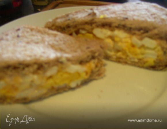 Сэндвичи с яйцом в индийском стиле