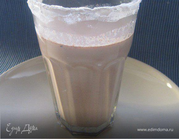 Какао с корицей и ванилью