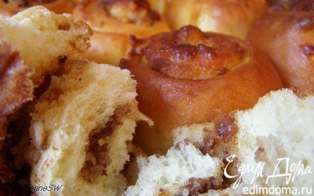 Рецепт Булочки с ореховой начинкой