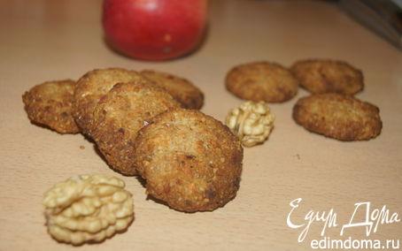 Рецепт Яблочно-ореховое печенье