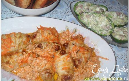 Рецепт Голубцы из китайской капусты