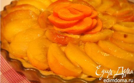 Рецепт Тарт с карамелизованными яблоками